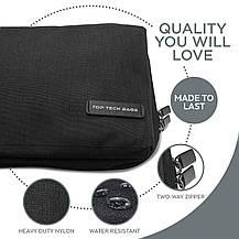 Сумка-органайзер для кабелей  Top Tech Bags двухслойная черная, фото 3