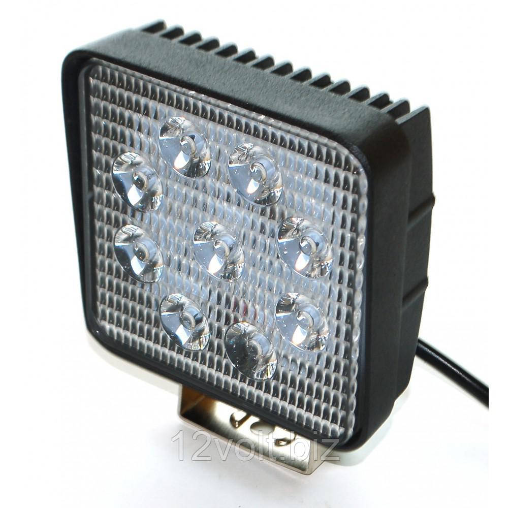 Светодиодная фара AllLight 06T-27W 9chip EPISTAR 9-30V