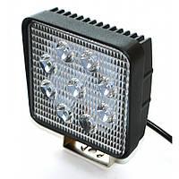 Светодиодная фара AllLight 06T-27W 9chip EPISTAR 9-30V, фото 1
