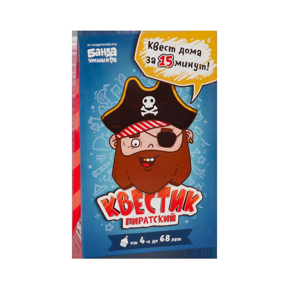 Настольная игра Банда Умников Квестик пиратский Джек (УМ165)