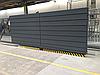 Раздвижные ворота уличные из сэндвич панели, размер 3500х2000 , фото 4