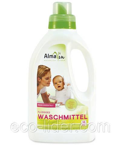 Органическое жидкое средство для стирки Аlmawin Waschmitell, Германия