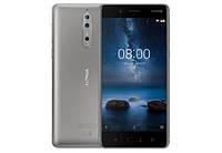 Nokia 8 Dual SIM Silver F00146634, КОД: 100447
