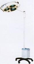 """Светильник операционный бестеневой L2000-3E -""""БИОМЕД"""", трехрефлекторній передвижной, аварийное питание"""