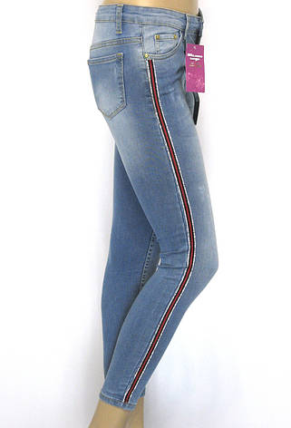 Жіночі джинси з низькою посадкою, фото 2