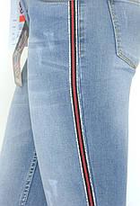 Жіночі джинси з низькою посадкою, фото 3