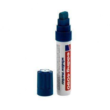 Маркер меловой Edding 4090, 4-15мм., синий