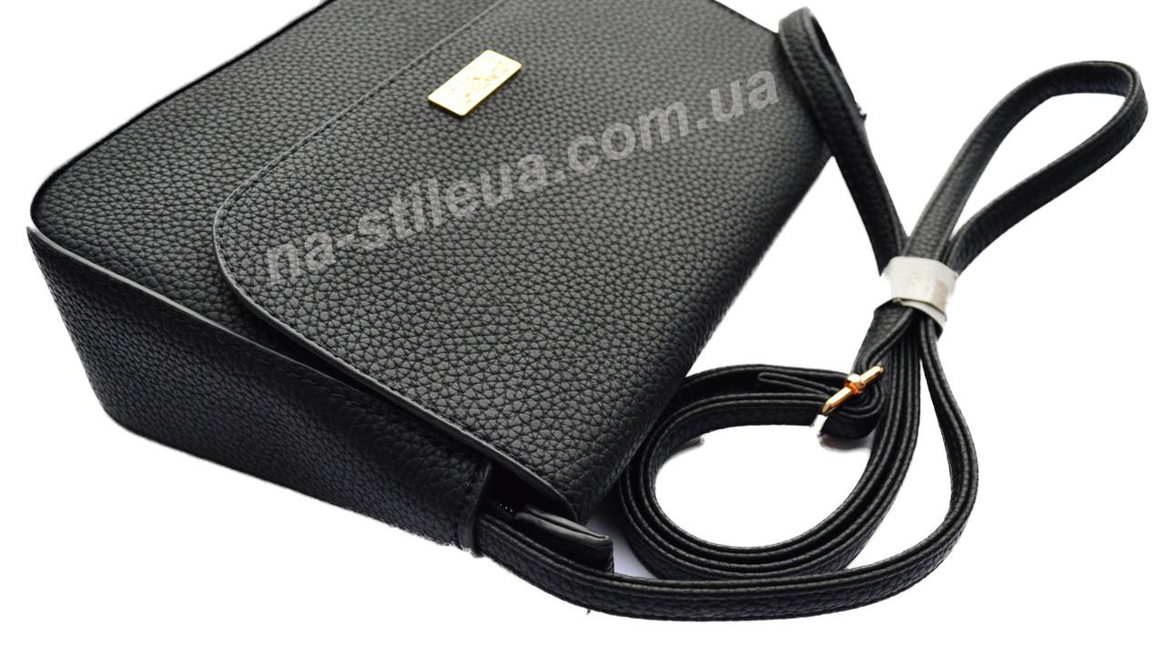 5e637de66716 ... Женский кожаный клатч мини сумка кошелек шкіряна через плечо Моника, ...