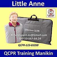 Учебный Манекен Имитатор пациента Laerdal Little Anne QCPR Training Manikin