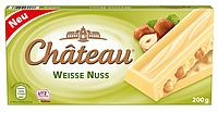 Шоколад белый Chateau Weisse Nuss -с лесными орехами 200 г ( Германия), фото 1