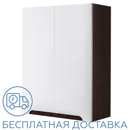 Шкаф навесной для ванной комнаты Симпл-Венге 60-02 ПИК, фото 2