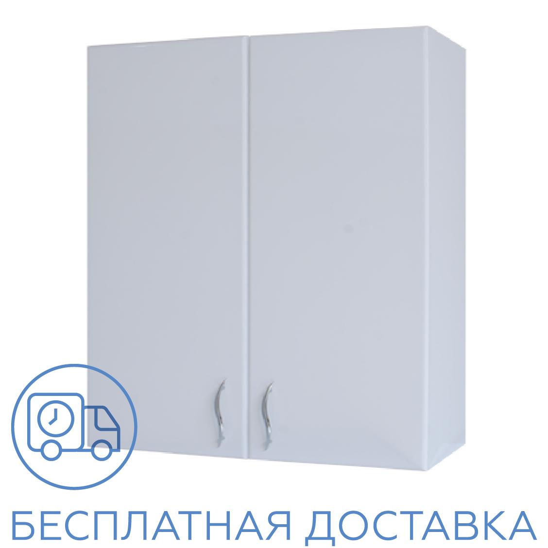 Шкаф навесной для ванной комнаты Базис 80-02 ПИК
