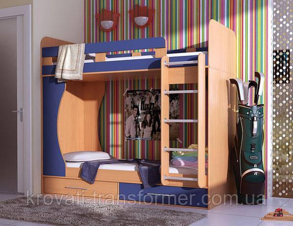 Двох'ярусне ліжко Modern
