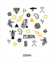 """Слайдер-дизайн для ногтей """"ZEBRA"""""""