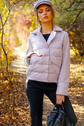 Женская демисезонная молодежная  куртка Василина, фото 2