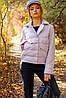 Женская демисезонная молодежная  куртка Василина, фото 6