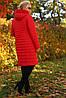 Женская демисезонная удлиненная куртка Стефания  р.52,64, фото 2