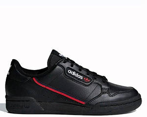 "Кроссовки Adidas Continental 80 ""Core Black/Scarlet/Colegiate Navy"" Арт. 3937"