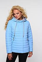 Женская стильная весенняя куртка Адриен,58-64р, фото 3