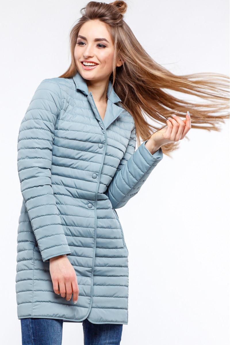 Женская демисезонная удлиненная куртка Гледис р.42-54