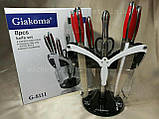 Набор кухонных ножей на подставке «Giakoma» , фото 4