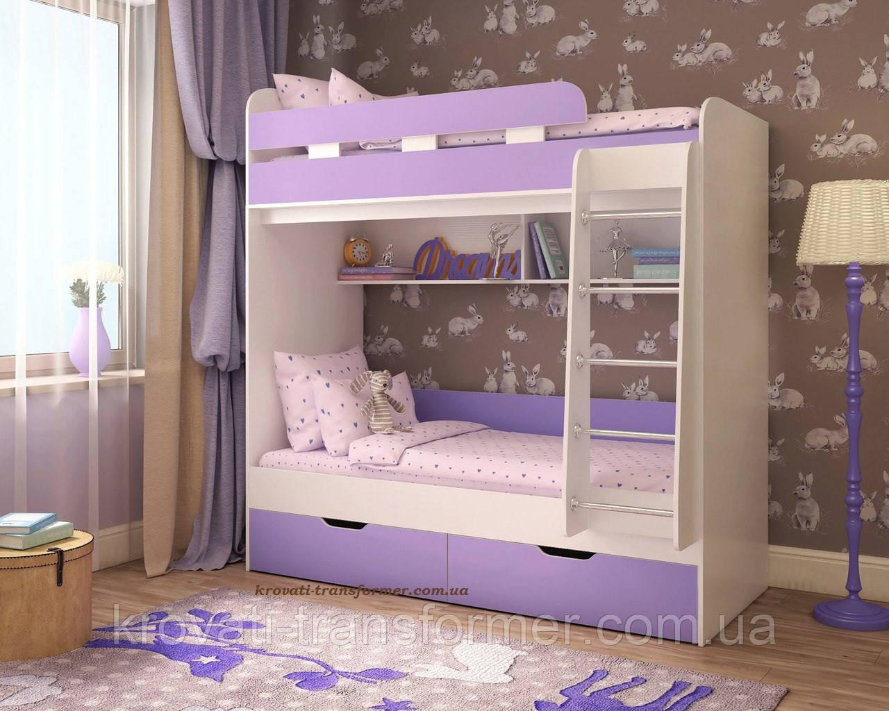 """Двухъярусная кровать """"Модерн люкс"""""""