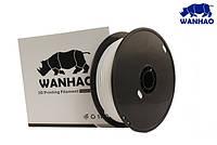 PLA пластик Wanhao, 1 кг 1.75мм белый