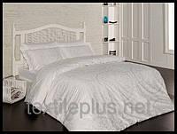 Постельное белье First choice сатин полуторный размер Vanessa krem (kod 3810)