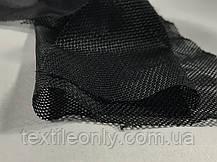 Сетка подкладочная цвет черный, фото 3