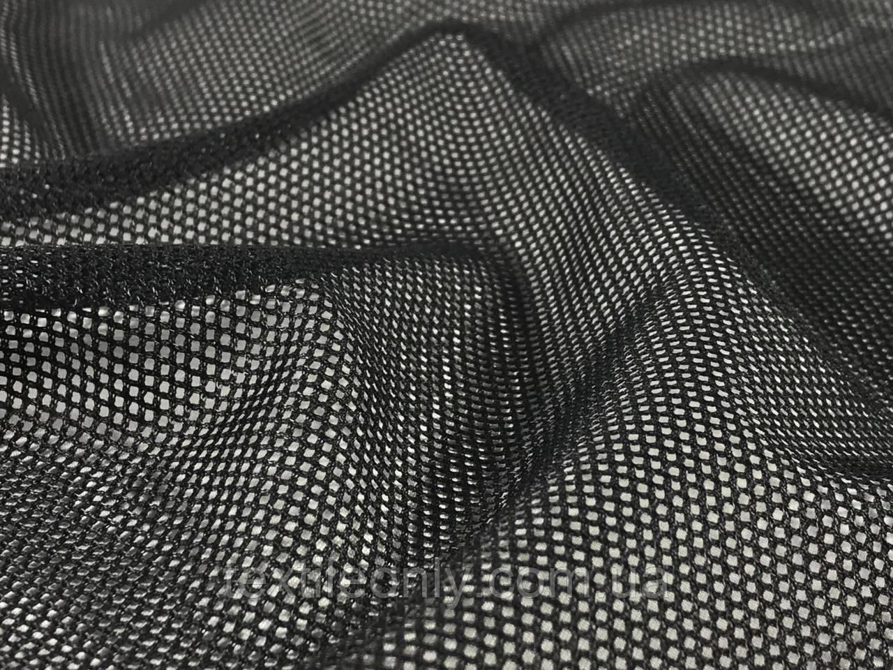 Сетка подкладочная цвет черный