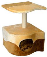Домик драпак для кошек Пралине сезалевый