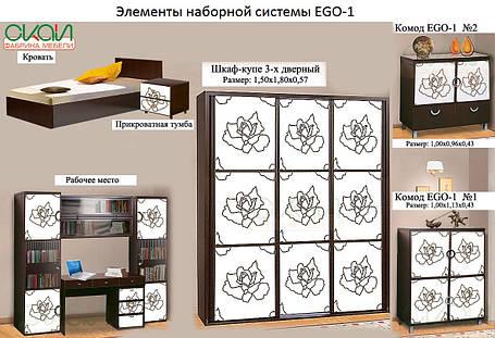 Пенал закрытый EGO – 1 (Скай ТМ), фото 2