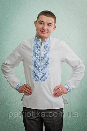 Мужская рубашка машинная вышивка | Чоловіча сорочка машинна вишивка, фото 2