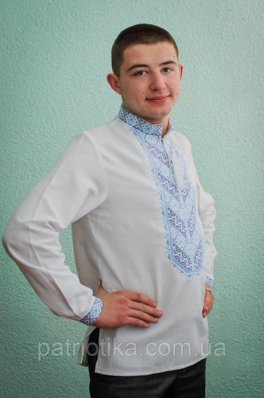 Мужская рубашка машинная вышивка  b0558cd3225d1