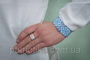Мужская рубашка машинная вышивка | Чоловіча сорочка машинна вишивка, фото 3