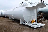 Топливный заправочный модуль объем 3000 л для дизельного топлива и бензина