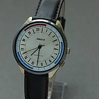Часы Ракета 24 часа позолоченные СССР , фото 1