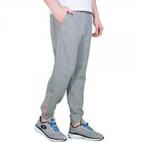 ad0e541d Спортивные штаны мужские Lotto DEVIN VI PANTS CUFF FT M GREY MELANGE/ORANGE  BRIGHT T2455