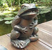 """Фигурка для водоема """"Лягушка"""", фонтанная фигурка, декор для пруда., фото 1"""
