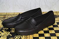 Женские мокасины из пенки, черные. Обувь из ЭВА. Непромокаемая обувь