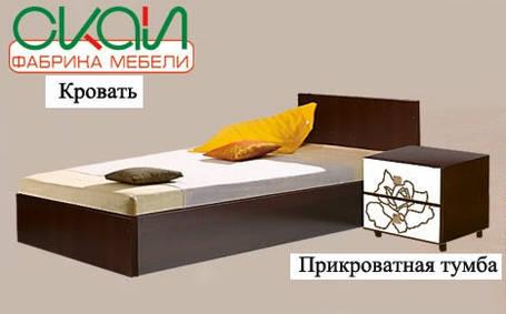 Кровать EGO-1 80х190 (Скай ТМ), фото 2
