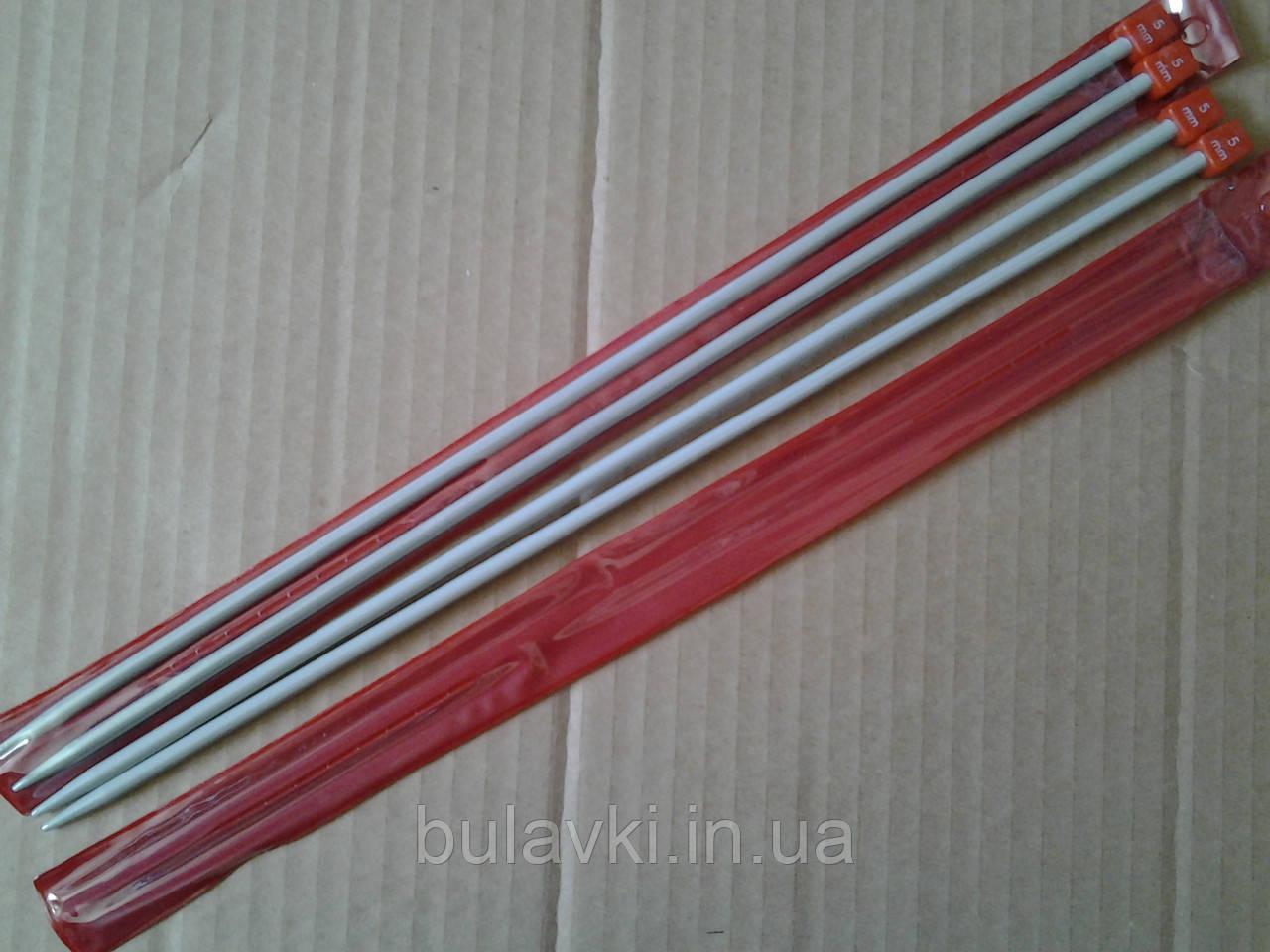 Спица прямая вязальная тефлоновая 5мм