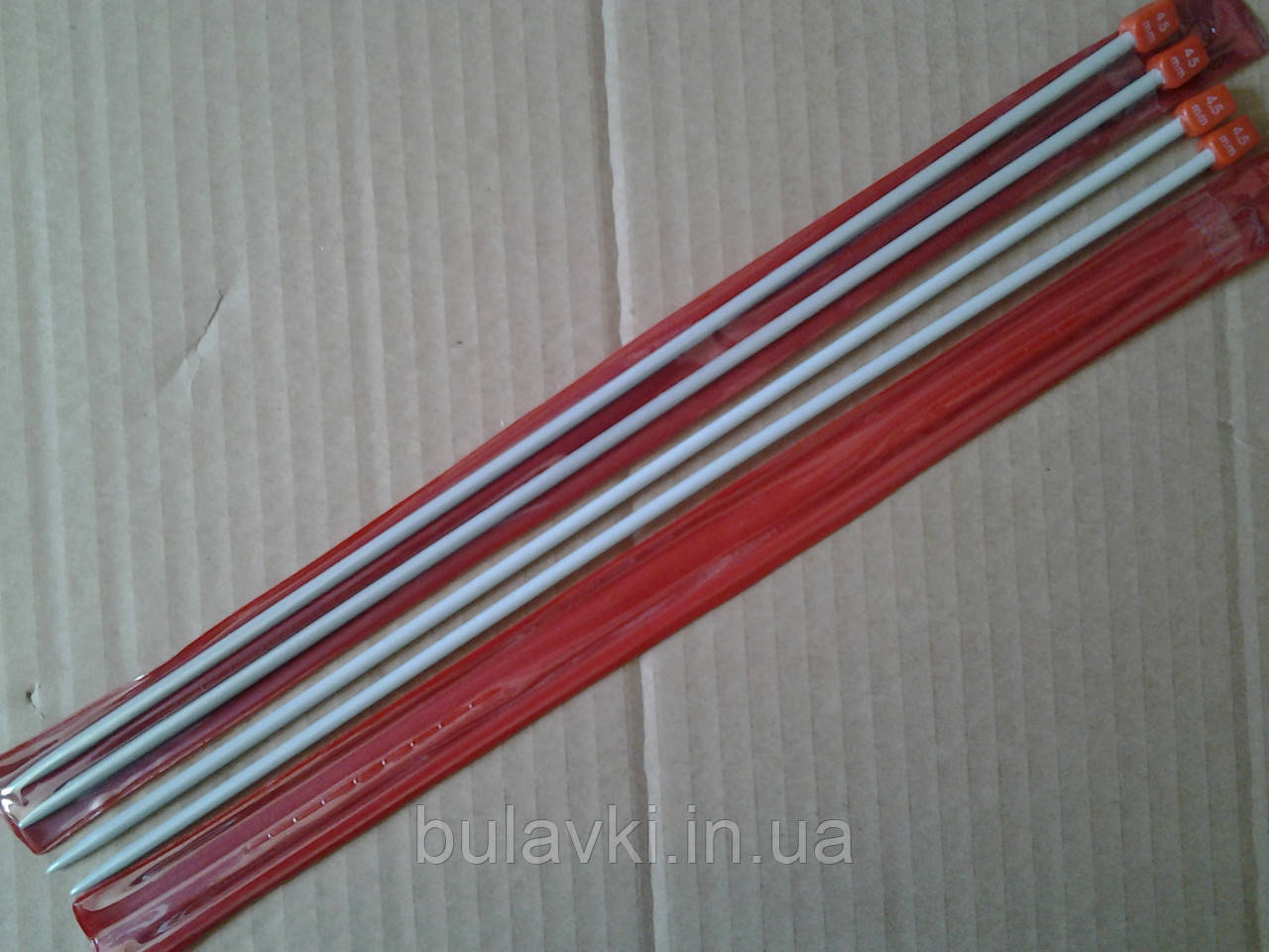 Спица прямая вязальная тефлоновая 4,5мм
