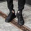 Мужские кроссовки черные Nike Air Max 270 топ-реплика, фото 3