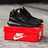 Мужские кроссовки черные Nike Air Max 270 топ-реплика, фото 5