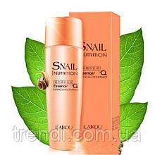 Эмульсия для лица с муцином улитки laikou Snail Nutrition