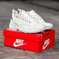 Мужские кроссовки Nike zoom 2k White топ-реплика, фото 3
