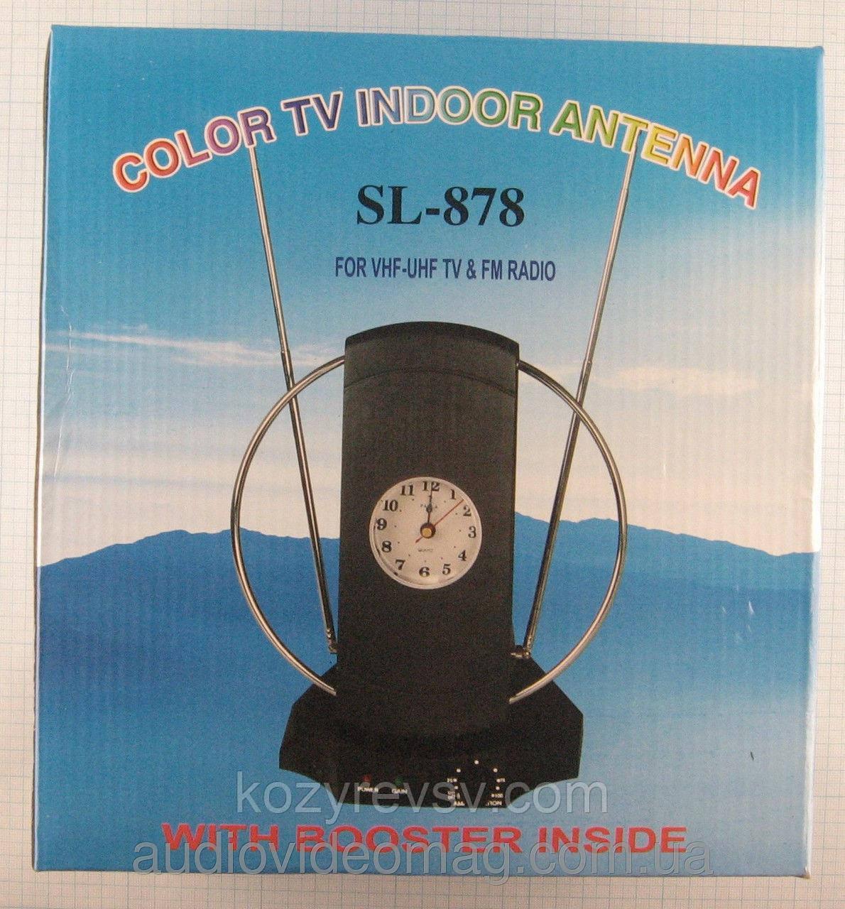 Антенна комнатная SL878 (UHF/VHF/FM диапазон, с усилителем продам постоянно оптом и в розницу,доставка из Харь