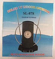 Антенна комнатная SL878 (UHF/VHF/FM диапазон, с усилителем продам постоянно оптом и в розницу,доставка из Харь, фото 1