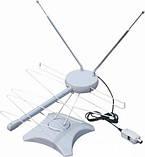 Антенна комнатная SL878 (UHF/VHF/FM диапазон, с усилителем продам постоянно оптом и в розницу,доставка из Харь, фото 6